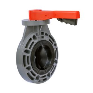 Schedule 80 CPVC Butterfly Valve