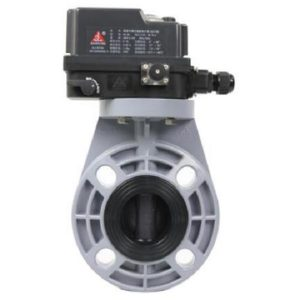 Schedule 80 CPVC Electric Butterfly Valve