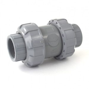 Schedule 80 CPVC True Union Ball Check Valve