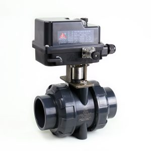 Sch 80 CPVC Electric Ball Valves