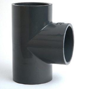 Sch 80 PVC Tees