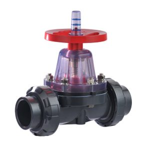 Schedule 80 PVC True Union Diaphragm Valve